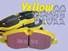 Rear Pads Set - Ebc Yellow Stuff
